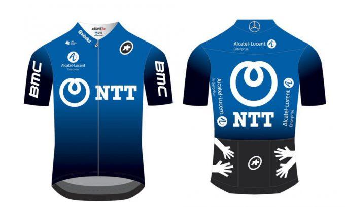 Dimension Data si rinnova e diventa blu come NTT Pro Cycling per il 2020