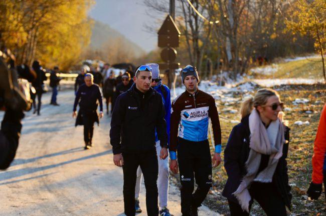 AG2R La Mondiale ha colpito le Alpi per il campo pre-stagionale – Galleria