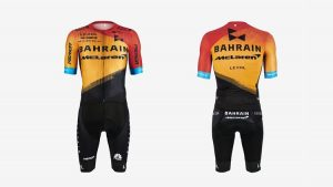salopette ciclismo Bahrain-Merida