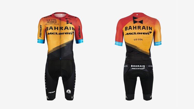 Il team Bahrain-Merida rilascia la nuova maglia da ciclismo