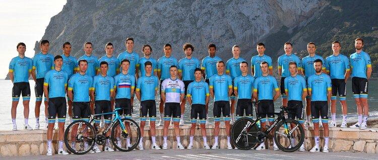 Il team di professionisti di Astana ha una delle maglie più nobili